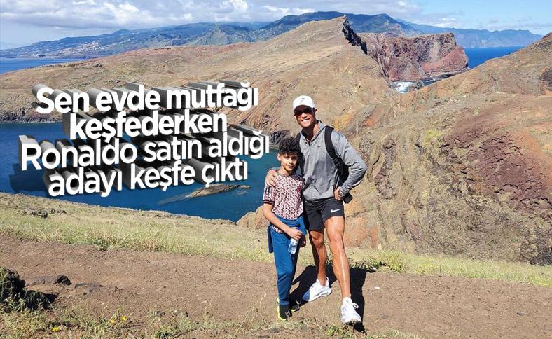 Ronaldo adasını keşfe çıktı