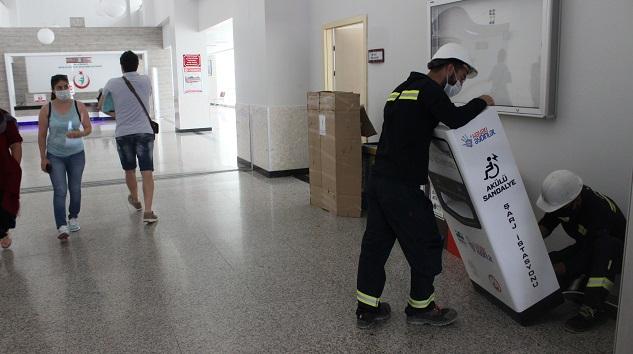 CK Enerji Akdeniz Elektrik'ten pandemi döneminde 4 hastaneye şarj istasyonu