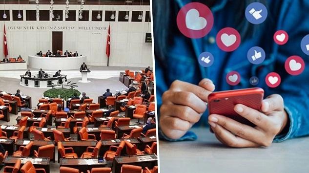 Sosyal medya düzenlemesi TBMM'de kabul edildi!
