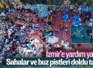 İzmir'e Türkiye'nin dört bir yanından yardımlar ulaştı