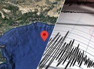 Antalya depremi sosyal medyanın gündeminde!